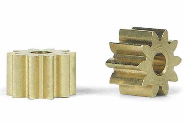 2x Slot.It Motorritzel PAS 6,5mm 10 Zähne für 2,00mm,