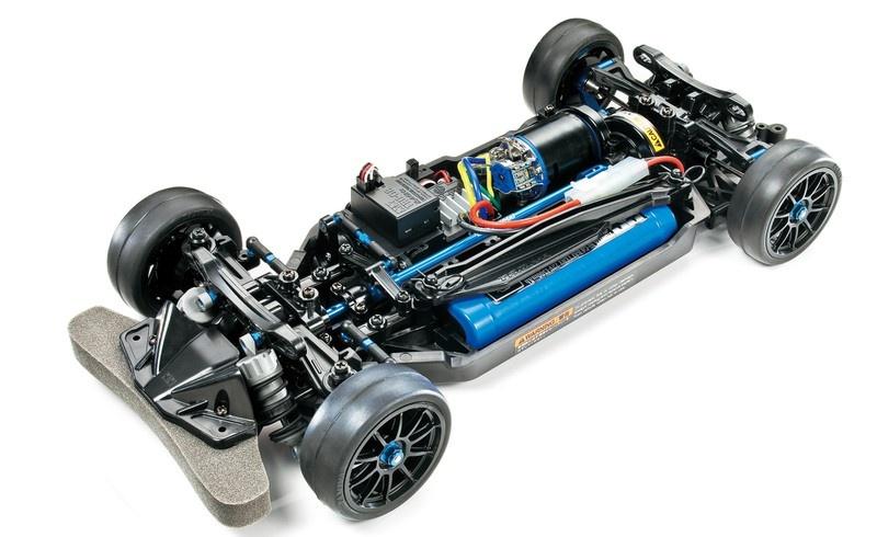 Tamiya RC TT-02R Chassis Kit 1:10