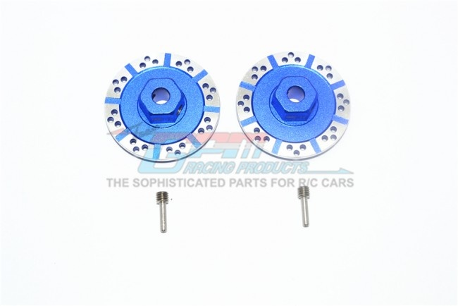 GPM aluminium +1.5mm hex with brake disk with silver lining
