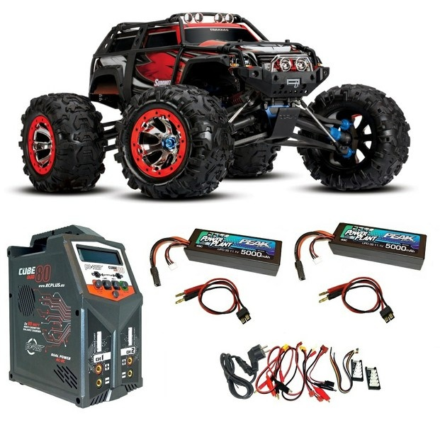 Traxxas Summit 4WD Extreme Monster-Truck TQi 2.4GHz RTR 1:10