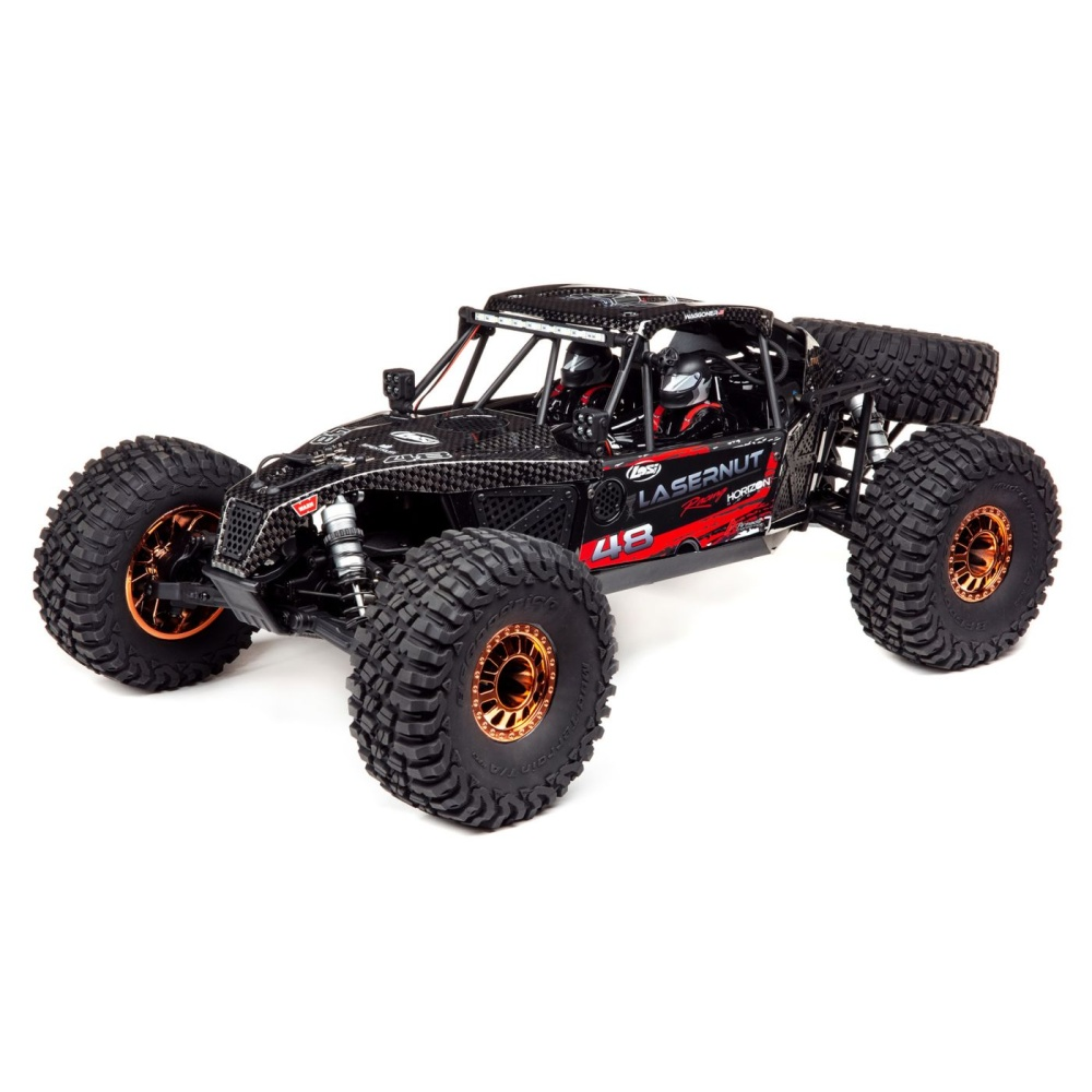 Losi Lasernut Tenacity Ultra 4 Black, 4WD Rock Racer,