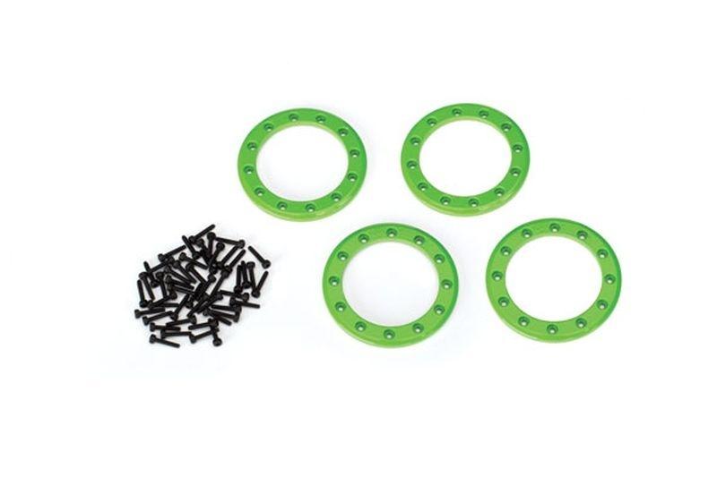 Traxxas Beadlock Rings Grün (1.9) Alu (4) + Schrauben