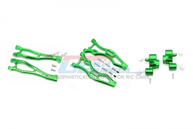 GPM aluminum front upper & lower arms + front knuckle arms -