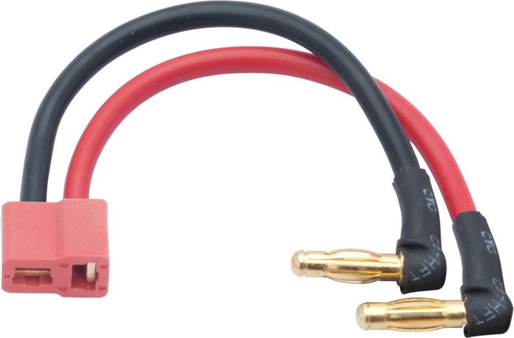 LRP LiPoHardcase Adapterstecker 4mm Buchse/US-style Stecker
