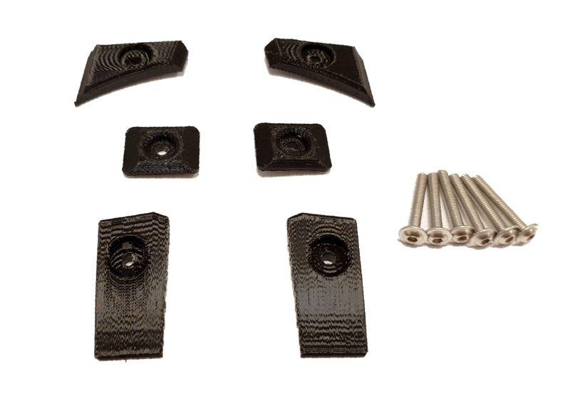 JS-Parts Karoscheiben / Body Savers für Traxxas X-Maxx