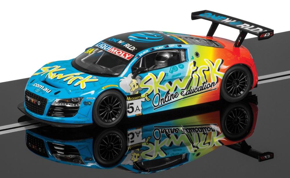 Scalextric Audi R8 LMS GT3 Skwirk #5A