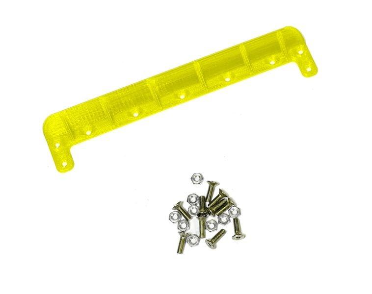 JS-Parts ultraflex Heckkante universal 140mm gelb