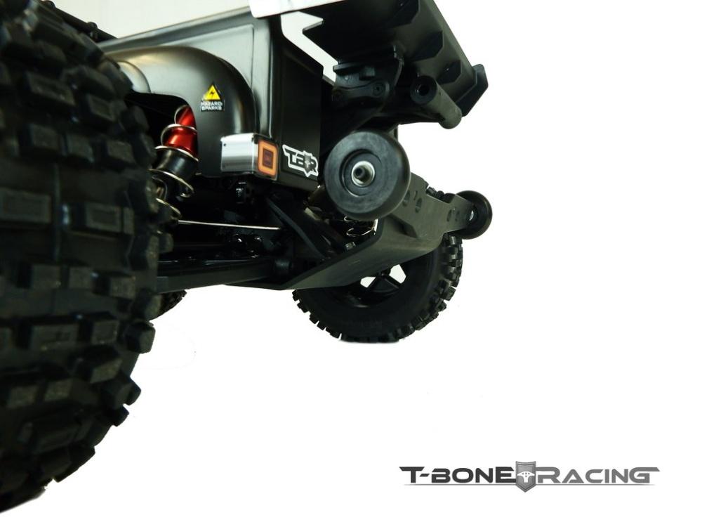 T-Bone Racing Stunt Truck Rear Bumper w/ Wheelie Bar - Arrma