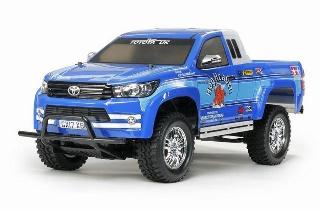 Tamiya RC Toyota Hilux Extra Cab CC-01 Bausatz 1:10