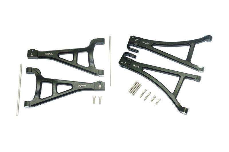 GPM Aluminium Front Suspension Arm Set (Upper + Lower)
