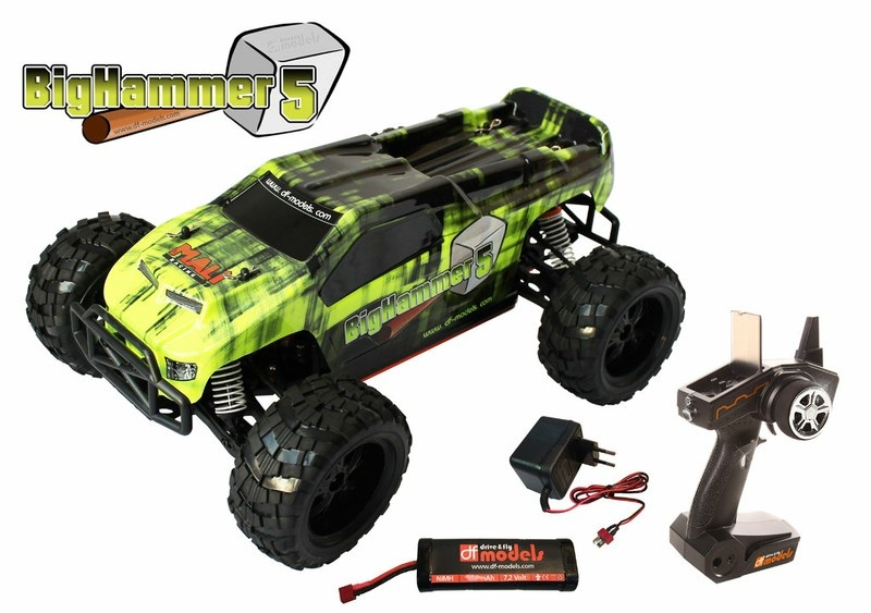 DF Models BigHammer 5 1:10XL Line 4WD Buggy 2.4GHz RTR 1:10