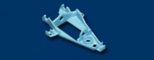 NSR Triangular IL Motor Mount SOFT BLUE