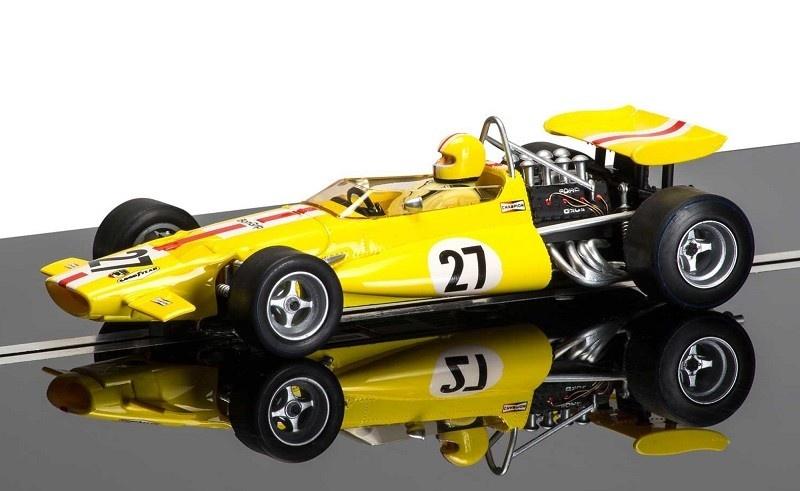 Scalextric 1:32 Legends - McLaren M7c #27 gelb