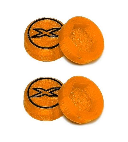 JS-Parts Radnaben-Abdeckung X orange 1/8 17mm