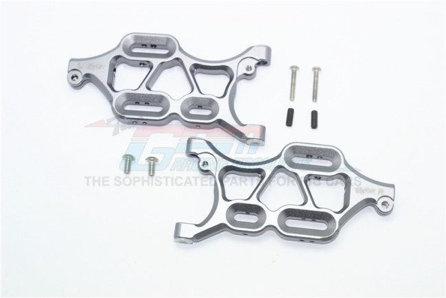 GPM aluminium front lower arms - 8PC Set for Thunder Tiger