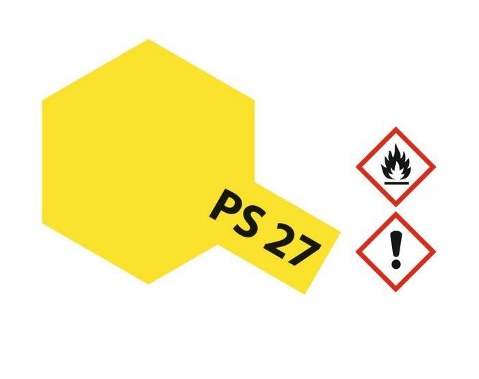 Tamiya Lexanlack PS 27 neon-gelb