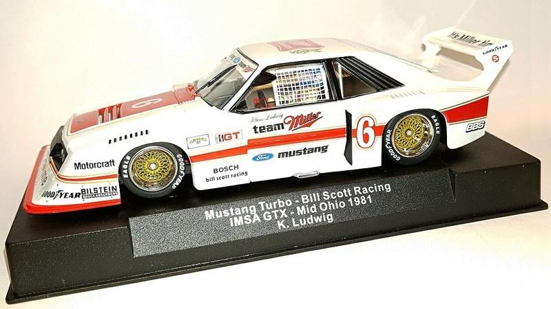 Sideways Mustang Turbo - Bill Scott Racing IMSA GTX -