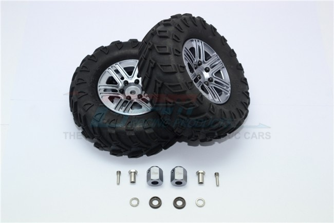 GPM 1.9 aluminum 6 spokes BBS rims with onroad tires and