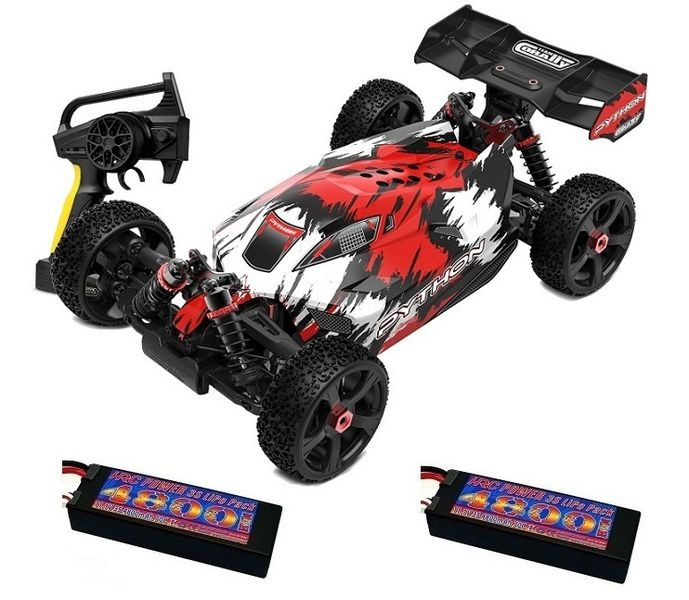 Team Corally - PYTHON XP 6S - Model 2021 - 1/8 Buggy EP -