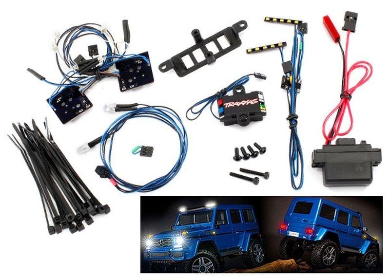 Traxxas LED Licht-Set komplett mit Power-Supply
