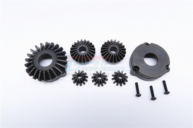GPM steel rear bevel differential gear - 7PCS - 1 SET -