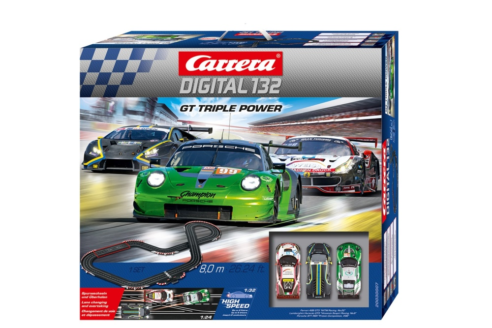 Carrera Digital 132 GT Triple Power