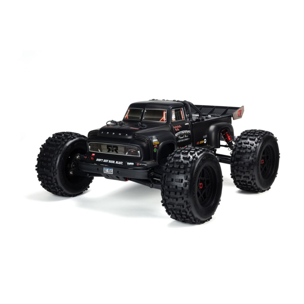 Arrma AR406147 Notorious 6S BLX Body Black Real Steel
