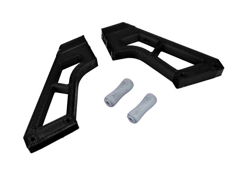 JS-Parts ultraflex Spoilerhalter schwarz passend für