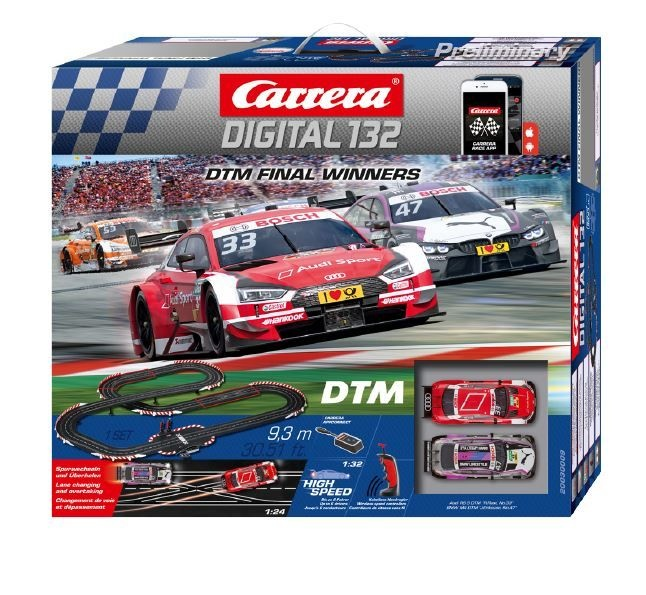 Carrera Digital 132 DTM Final Winners