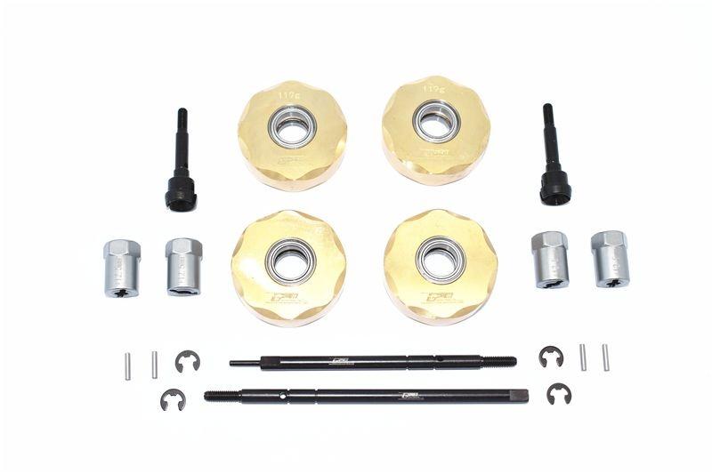 GPM Brass Pendulum Wheel Knuckle Axle Weight +12.5mm Wider