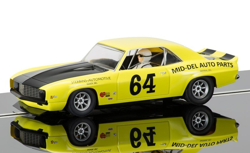 Scalextric Chevrolet Camaro 1969 #64 Trans Am