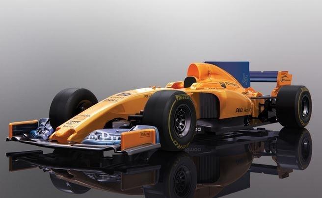 Scalextric 2018 McLaren F1 SRR