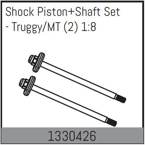 Absima Kolbenstange m. Kolbenplatte Truggy/Truck (2) 1:8