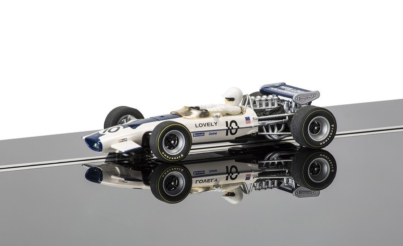 Scalextric Team Lotus 49 #10 Pete Lovely HD