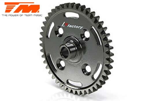 Team Magic Option Part - B8 - ST Steel Spur Gear 44T