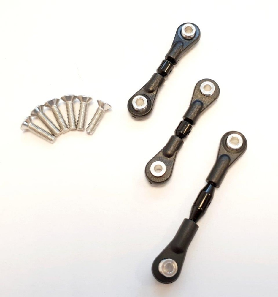 GPM alloy completes tie rod with screws - 1 PCS Set for
