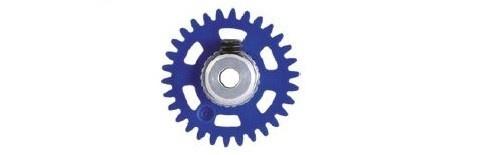 NSR AW 3/32 Soft Plastic Gear/Zahnrad 30T w/alu hub