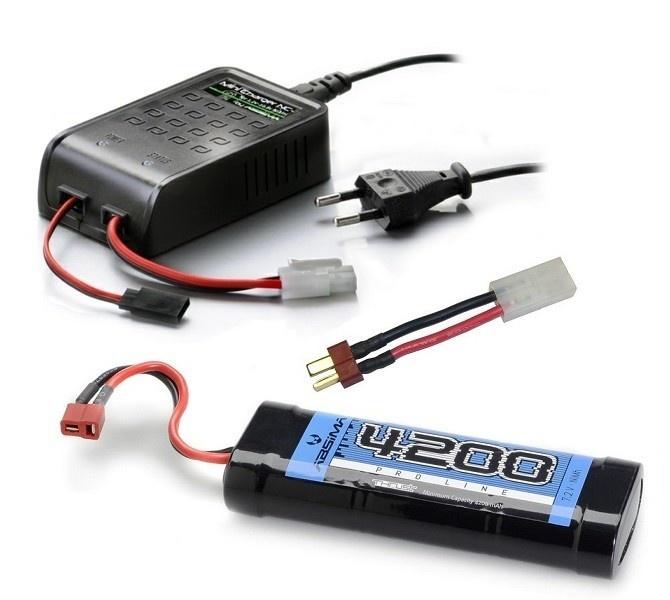 Absima Stick Pack NiMh 7,2V 4200 (T-Plug)--SPARSET 1-- incl.