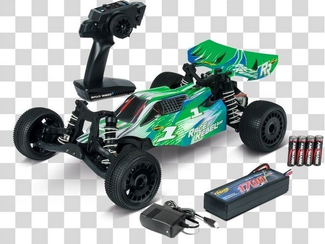 Carson X10 2WD Race Rebel Buggy 2.4GHz RTR 1:10