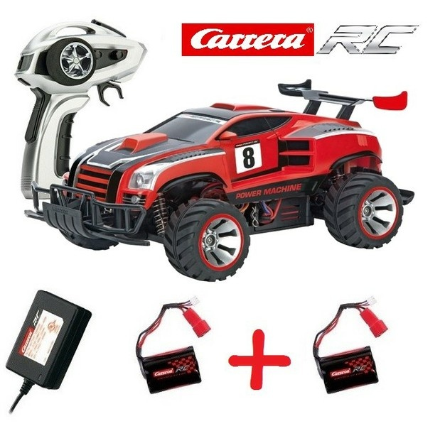 Carrera RC Power Machine 2.4GHz RTR 1:18