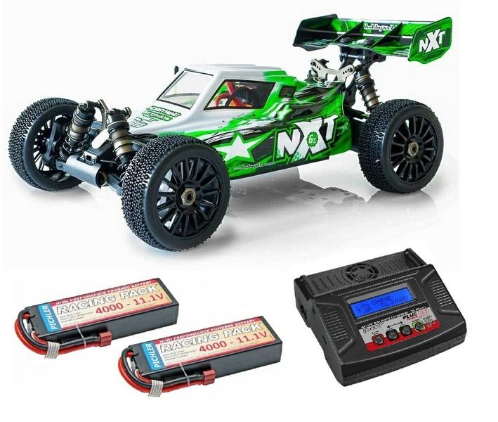 Hobbytech Spirit NXT EP 4WD E-Buggy Brushless 2.4GHz RTR 1:8