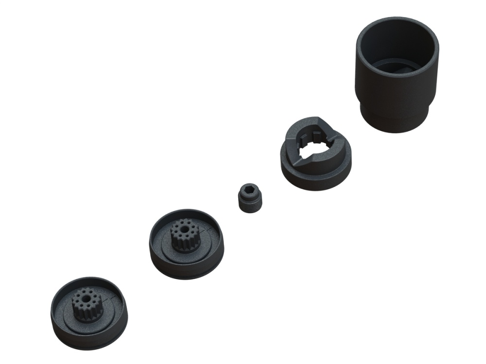 Arrma Servo Saver Plastic Parts Set (ARA340165)