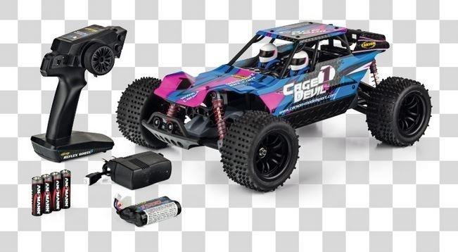 Carson Cage Devil FE 2WD Truggy 2.4GHz RTR 1:10
