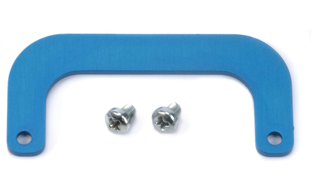 Carson Alu Dämpferbrücken-Verstrebung blau