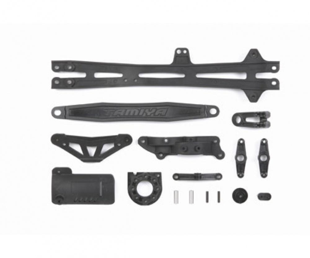 Tamiya TT01E/R/D D-Teile Akkuhalter/Motorhalter