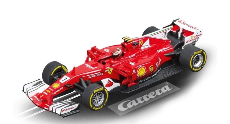 Carrera Digital 132 Ferrari SF70H K.Räikkönen, No.7