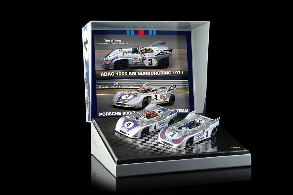 NSR 1/32, Doppelset Porsche 908/3, Nr.3 Winner + Nr.4 3rd,