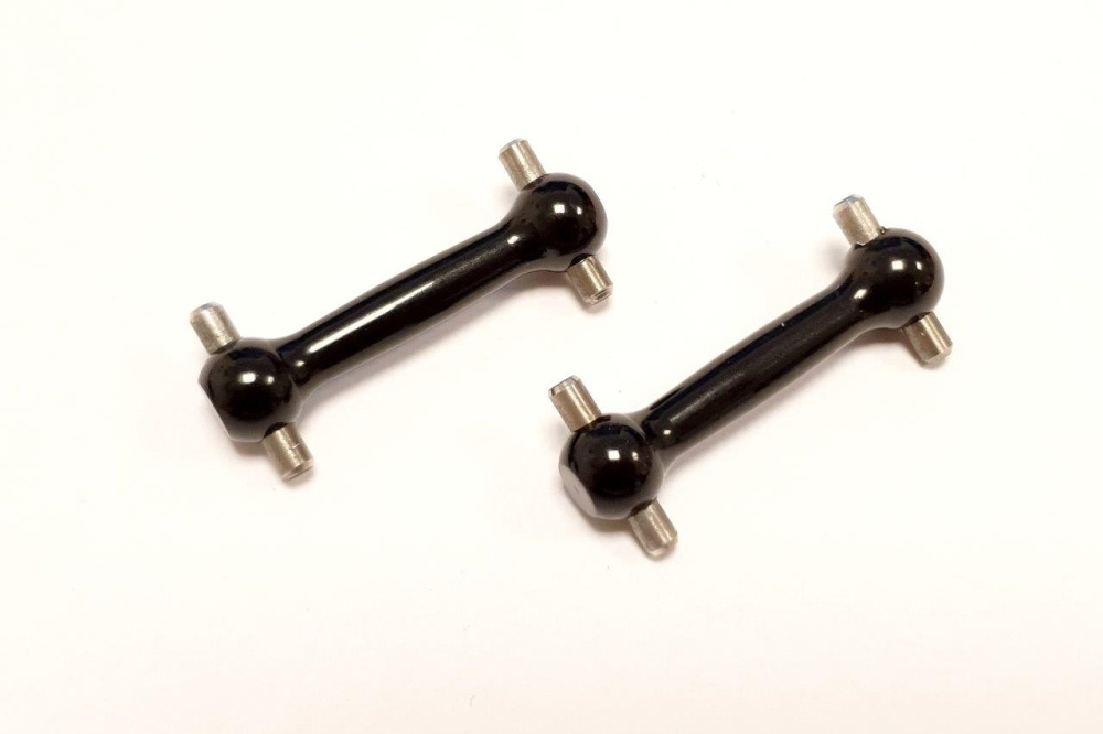 GPM alloy front/rear dog bone (31mm) - 1 PR for Tamiya TT-01