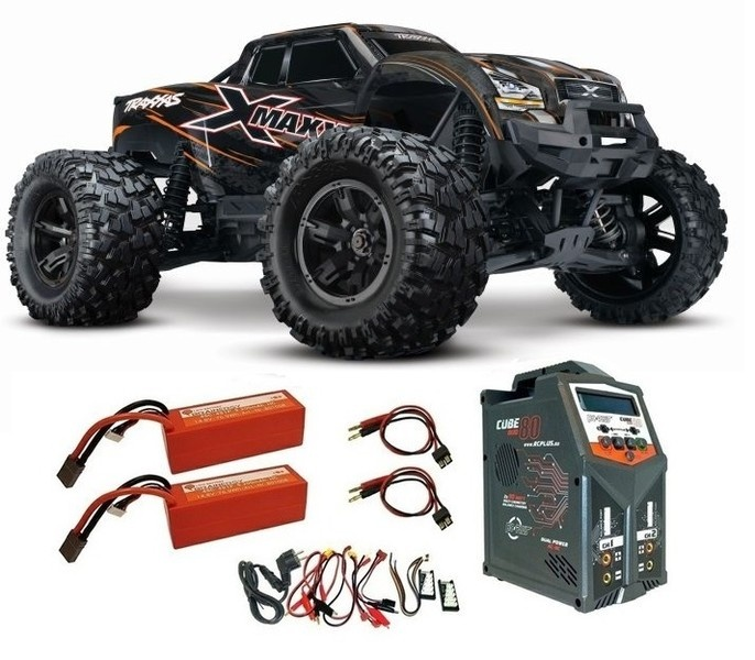 Traxxas X-Maxx 4x4 E-Monstertruck BL TQi2.4GHz TSM 8S+30V