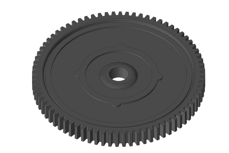 Team Corally Spur Gear 76T - Composite